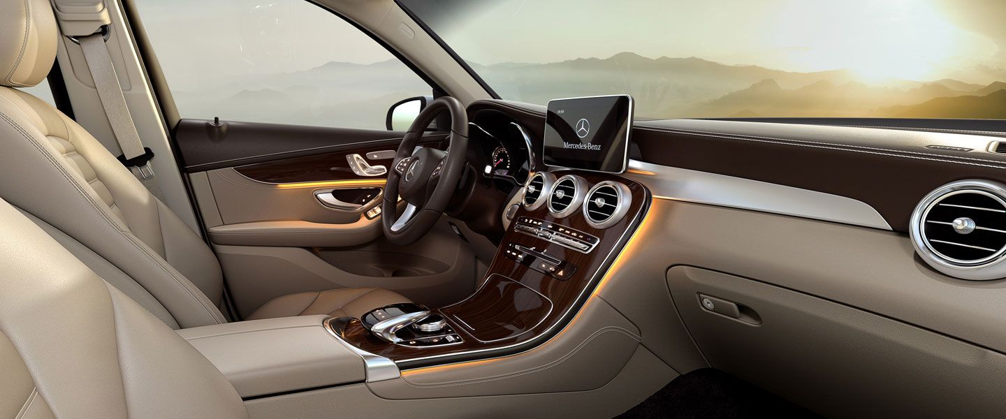 2016 Mercedes Glc Svu Interior With Images Benz Suv Mercedes