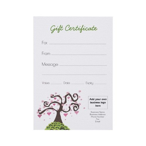 create your own gift certificate   vouchers for your business - create your own voucher
