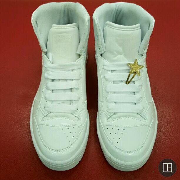 nuovo alto post adidas metà top scarpe da missy elliotts 2007