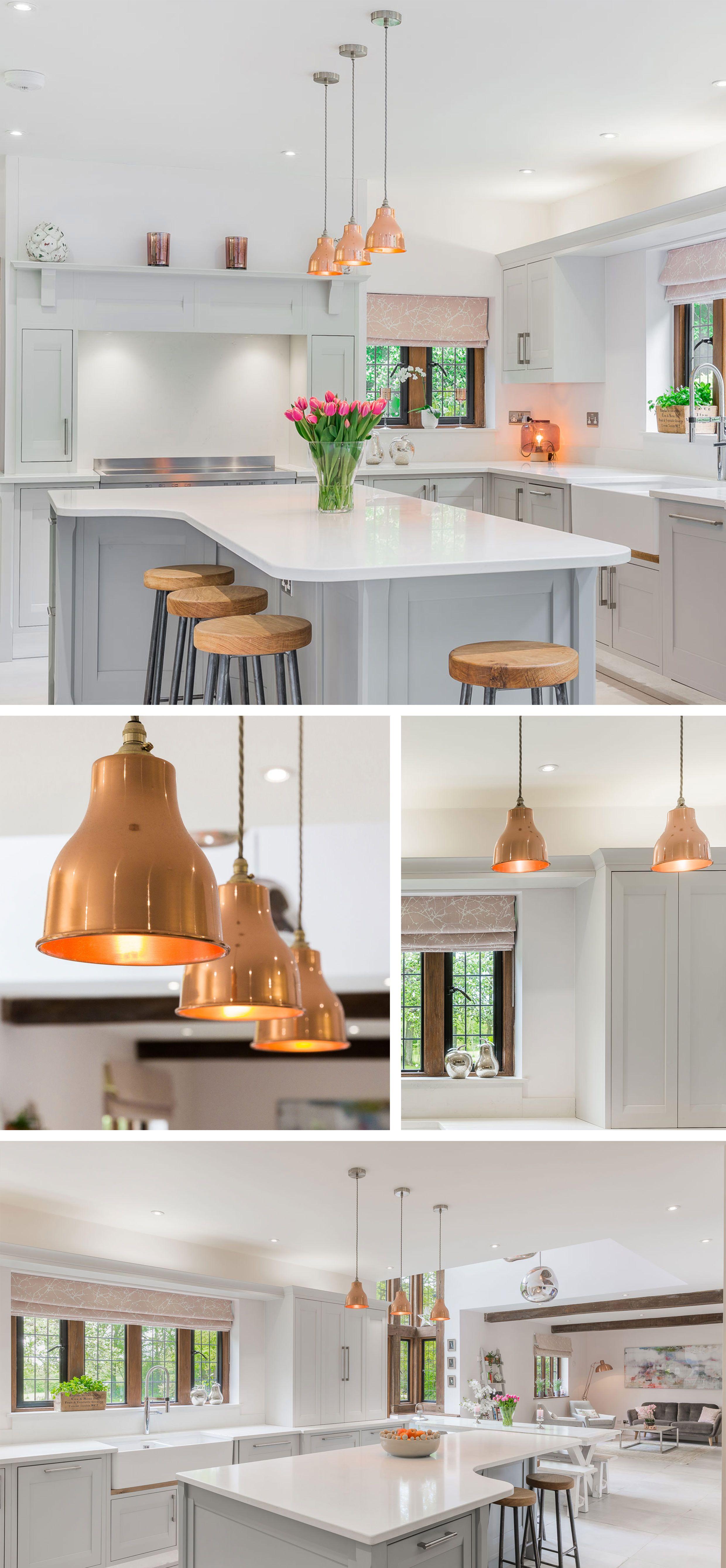 Zoe price interiors contemporary pendants and kitchens