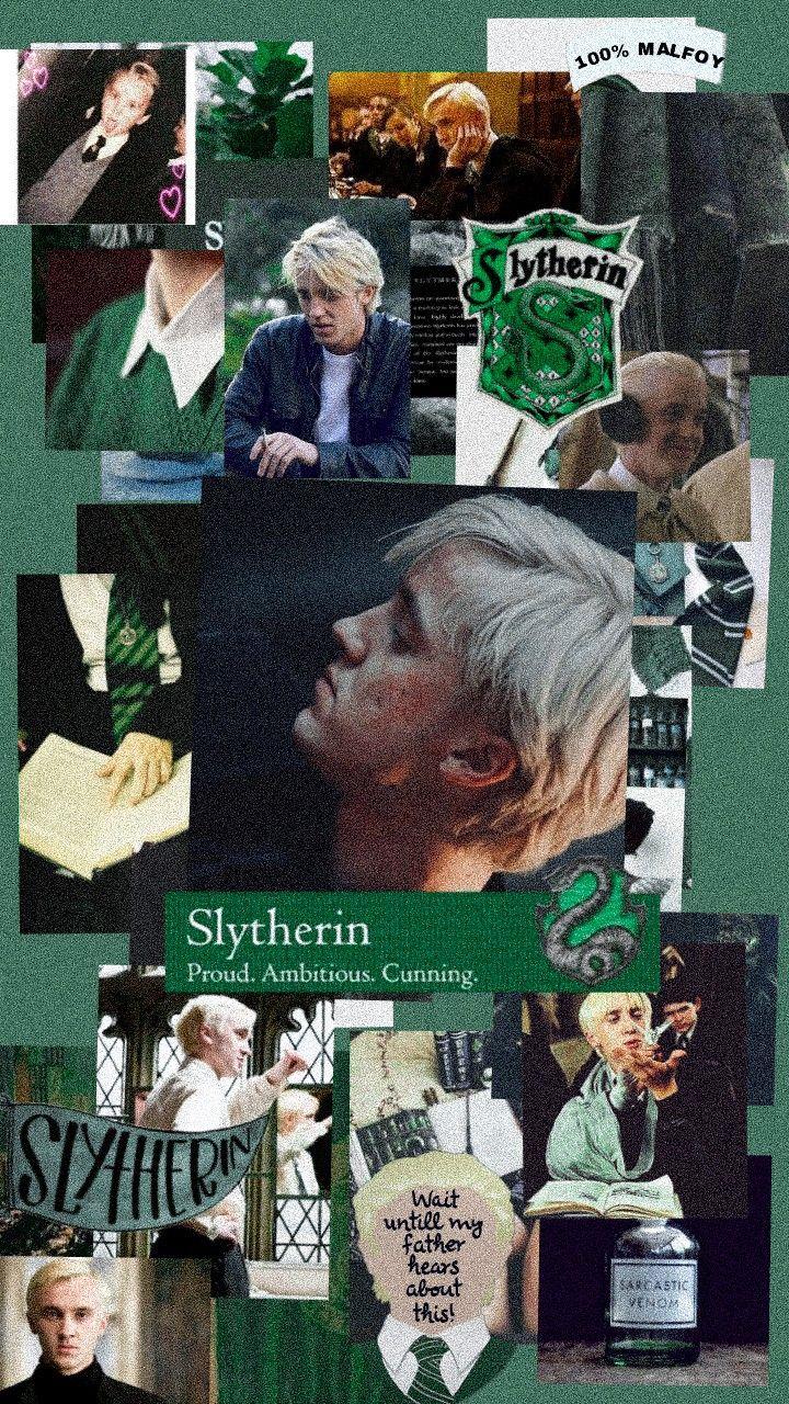 Draco Malfoy Harry Potter Slytherin Sonserina Harry Potter Wallpaper Harry Potter Sonserina