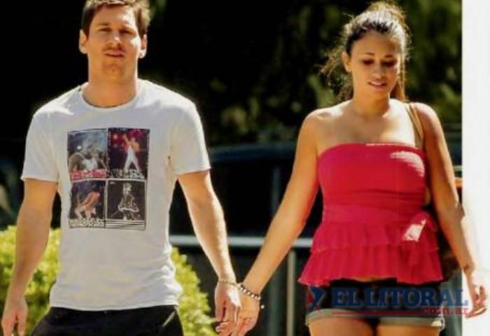 Nació en Barcelona Thiago, el primer hijo de Lionel Messi