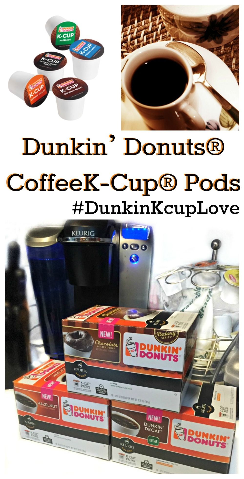 Morning Routine Dunkin' Donuts® CoffeeKCup® Pods