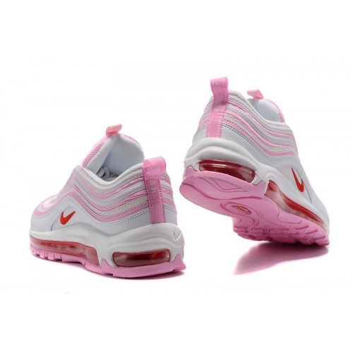 81357d7c90b57 Dam Nike Air Max 97 GS Valentines Day Skor Rosa Vit 313054-161 in ...