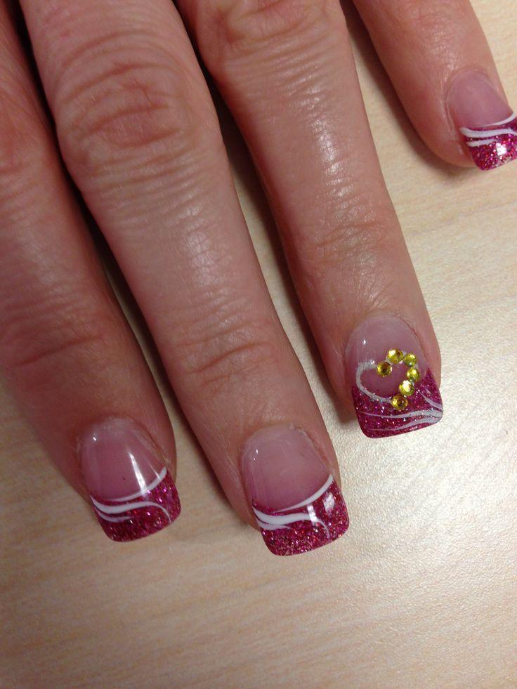 Sweet Candy Heart Romantic Nail Art Designsbest Beautiful Nail