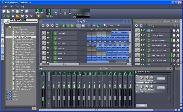 lmms screenshot   Audio   Music software, Linux, Software