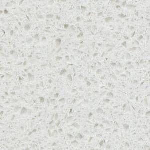 Hanstone Swan Cotton Quartz Countertop Hall Bath Quartz Countertops Hanstone Quartz Countertops