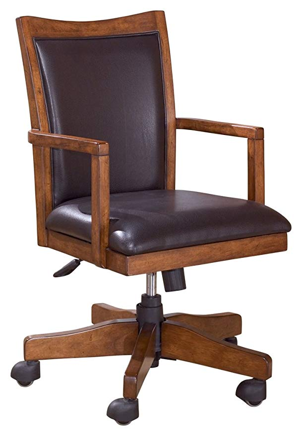 Amazon Com Ashley Furniture Signature Design Cross Island Swivel Desk Chair Amazon Com Ashle In 2020 Office Chairs For Sale Swivel Chair Desk Furniture