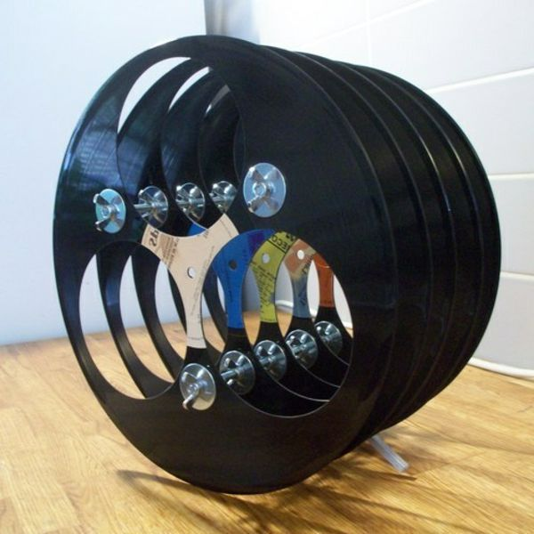 20 handgemachte einzigartige schallplatten projekte - Schallplatten deko ...