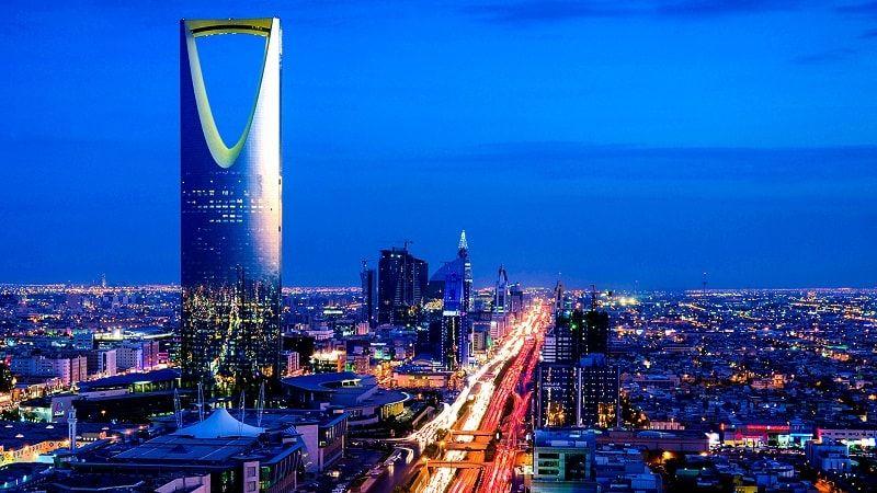 برج المملكة في مدينة الرياض السعودية Riyadh Dubai City Saudi Arabia