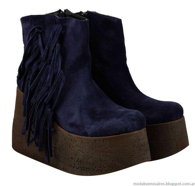 Zapatillas Zapatos Y Botas Invierno 2015 Batistella Moda Y Comodidad En Calzado Casual Urbano Zapatos Con Flecos Calzado Mujer Zapatos Mujer