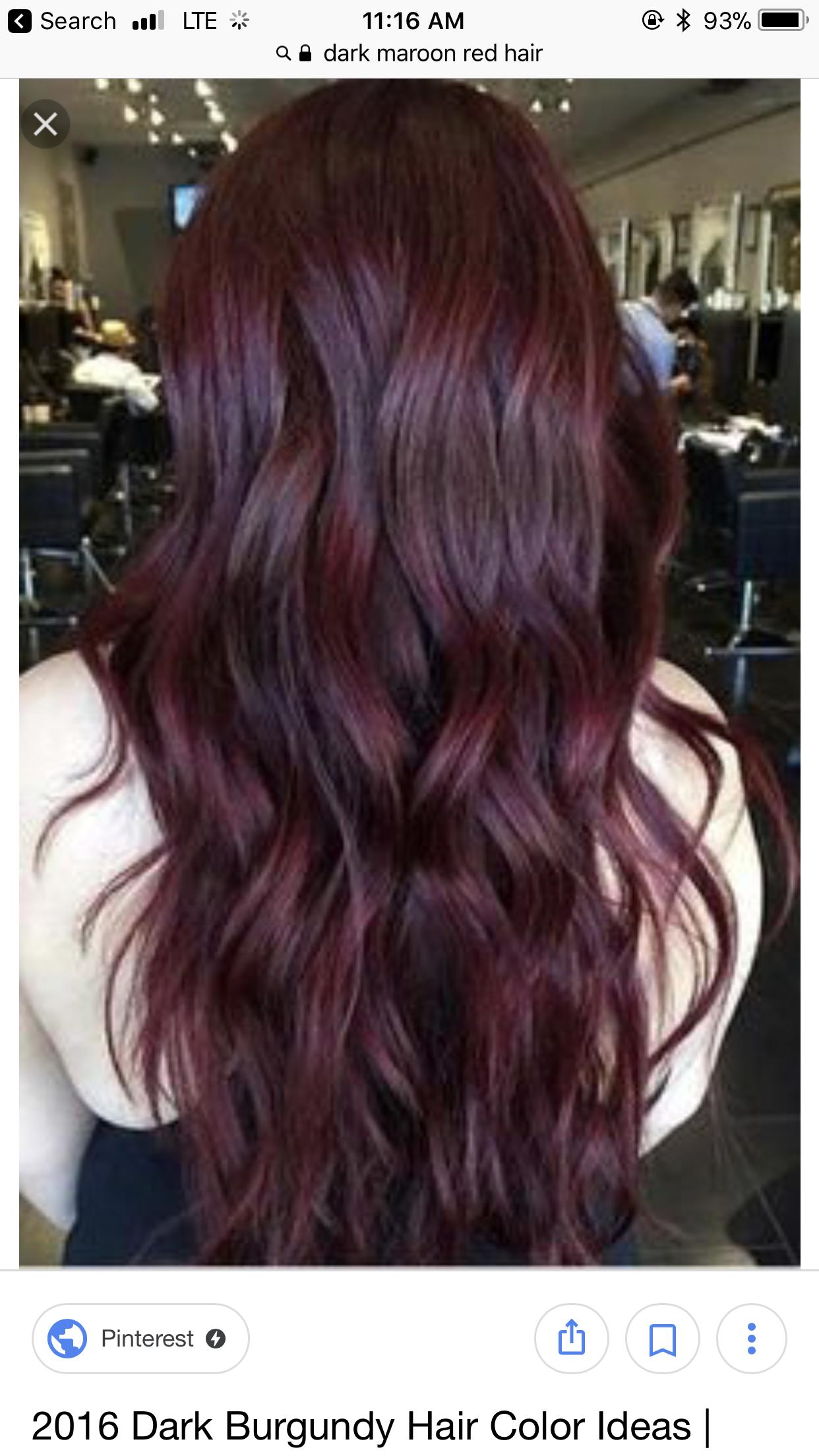 Pin By Brook Kepfer On Hair Wine Hair Hair Color Mahogany Dark Red Hair Color