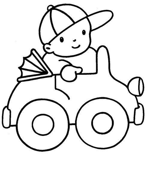Dibujos Para Colorear Niños 3 Años | Dibujos para pintar | Pinterest ...