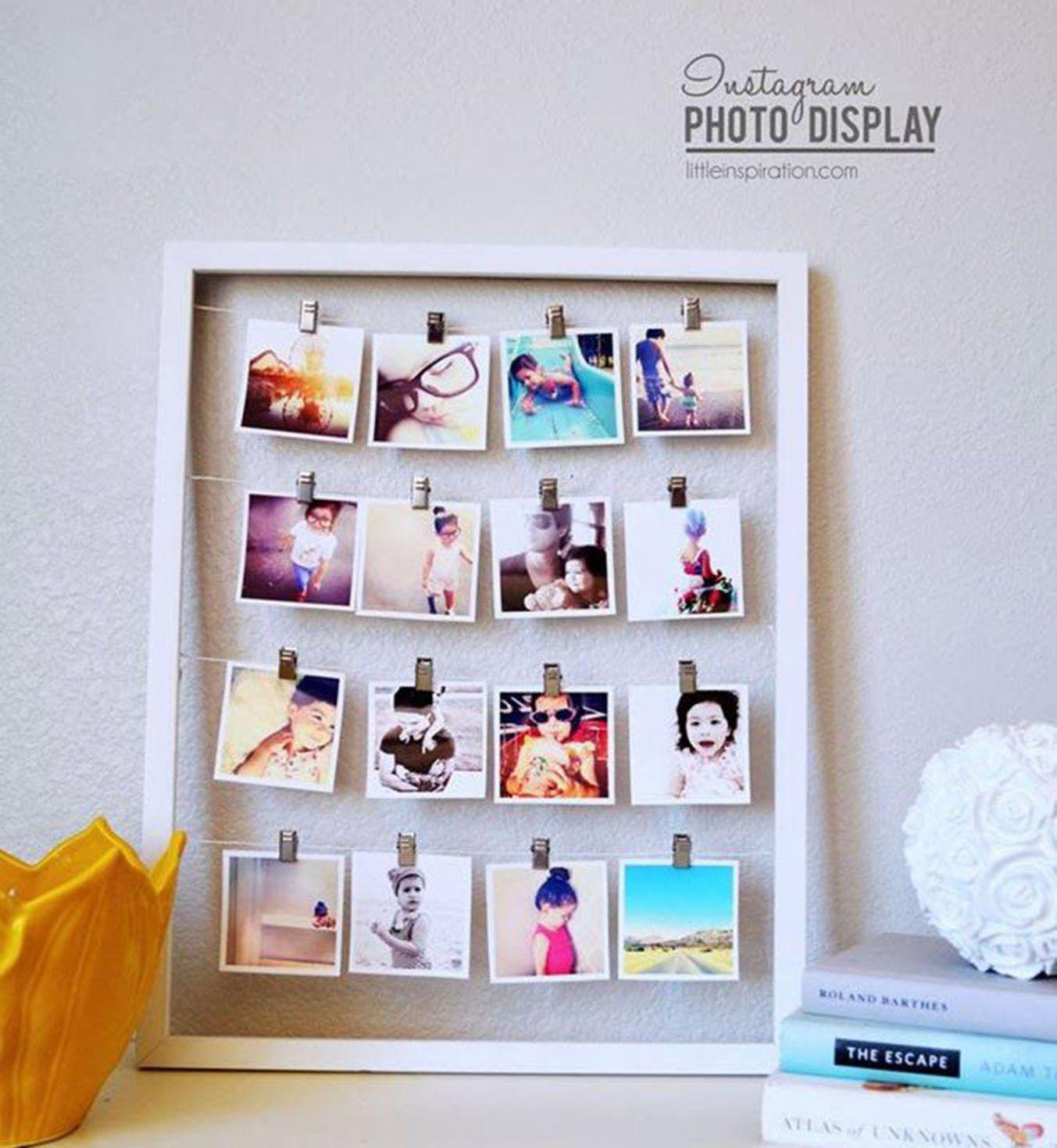 Fabriquer Un Cadre Photo Original Idees