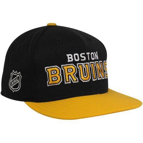 dd7b015a34e NHL Boston Bruins Reebok Snapback Hat (Black Gold) by Reebok. Save ...