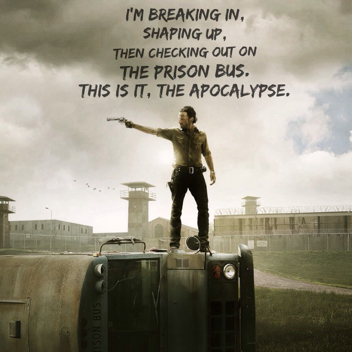 Imagine Dragons and Walking Dead.