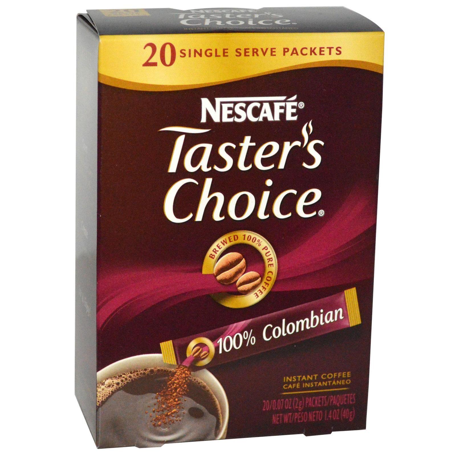 Nescafé, Taster's Choice, Instant Coffee, 100 Colombian