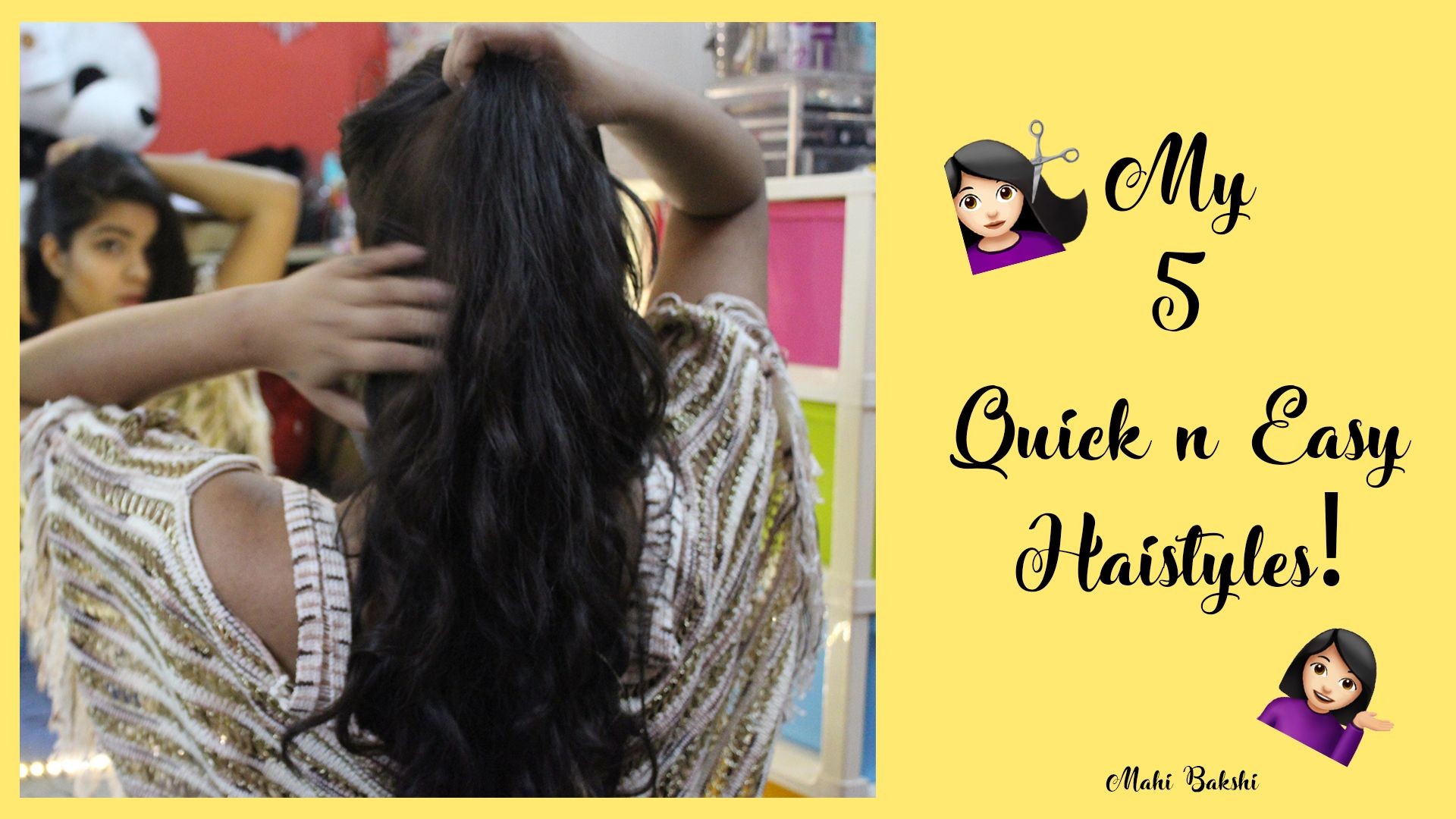 Watch The Video For Some Cute Quick N Easy Hairstyles 3