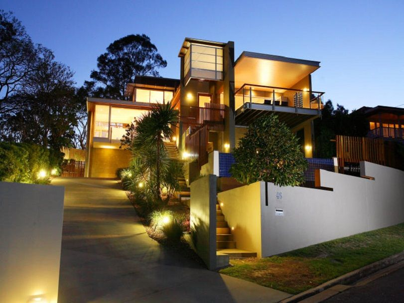 21 Contemporary Exterior Design Inspiration Outdoor lighting