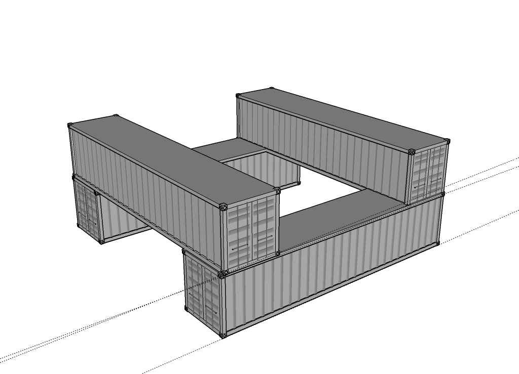 Williams Container House Png 1024 739 Cargo Container Building A Container Home Container House