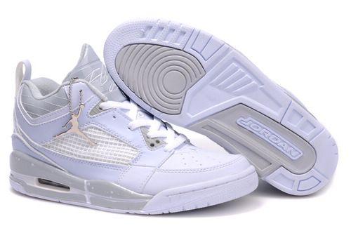 cheaper fdd03 e344b  95.98 Men s Nike Air Jordan 3+4 Shoes White Grey 25%OFF