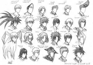 drawing cartoon hairstyles 4 easy