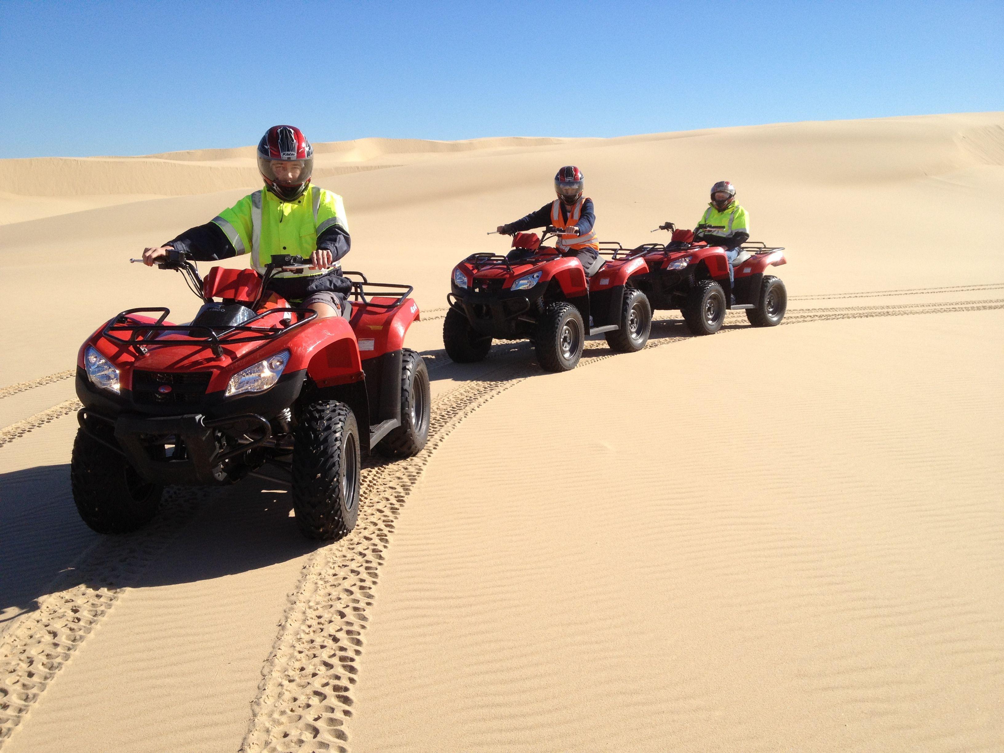 400cc Quad Bikes Sand Dune Adventures Australia Bike Tour Quad