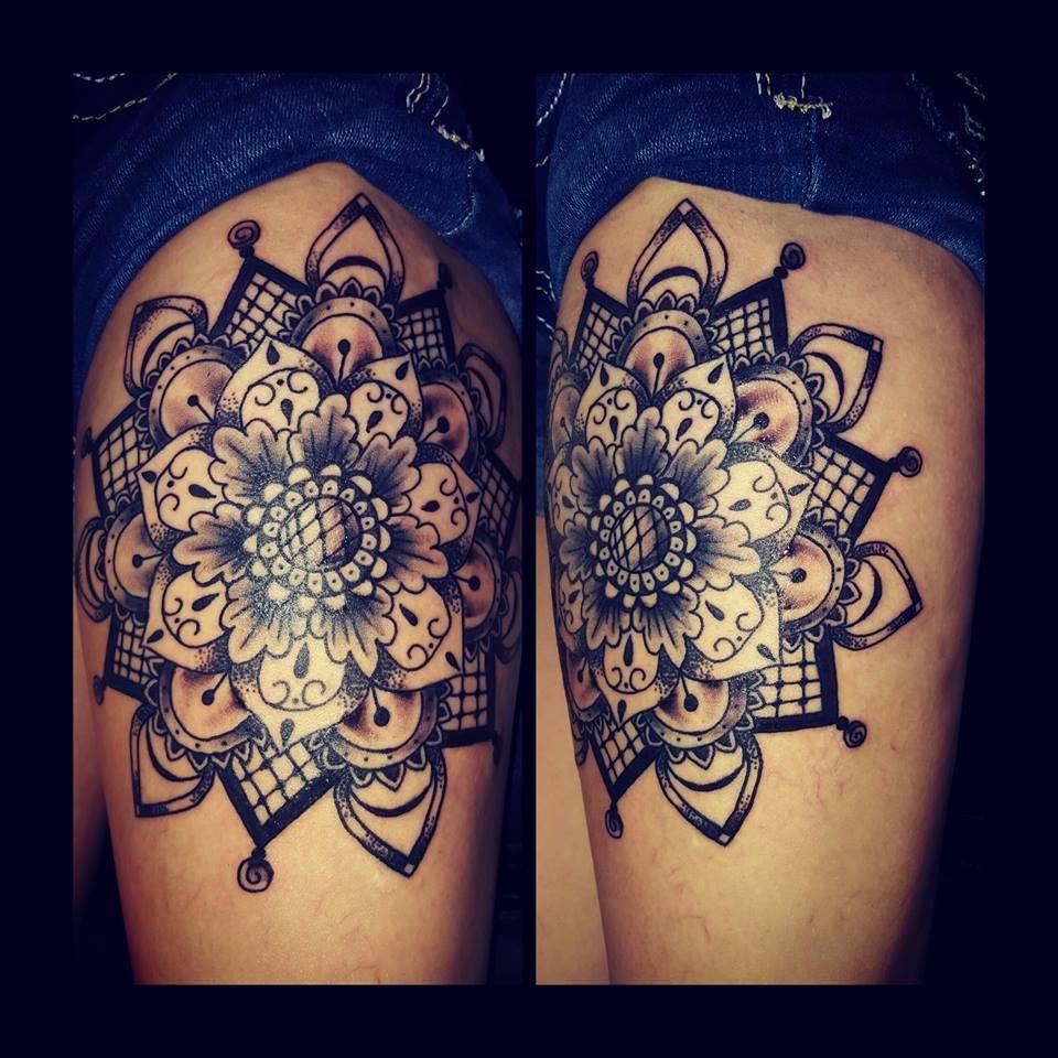 Mandala Tattoo by Sabrina Cruz @sabrinacruz005 @skinelixirtattoo at ...