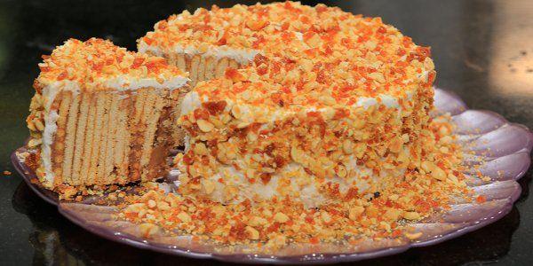 Cbc Sofra طريقة عمل كيكة البسكويت الباردة غادة التلي Recipe Arabic Rice Recipe Recipes Biscuit Cake