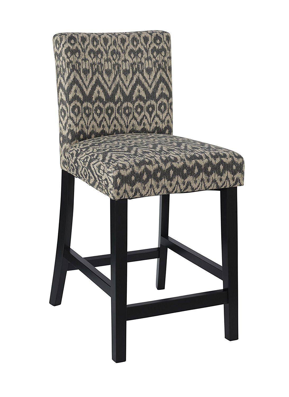 detailed look 39186 b2f62 Amazon.com: Linon Home Decor Counter Height Morocco Stool ...