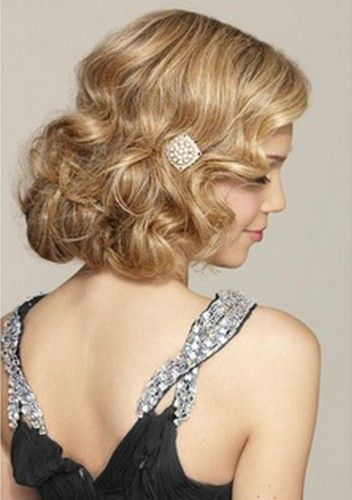 Glamorous Faux Bob Hairstyles Pretty Designs Gatsby Hair Vintage Hairstyles Holiday Hairstyles