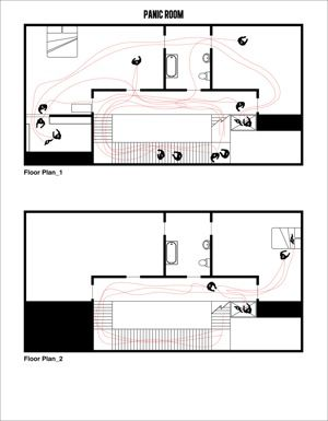 The 34 Movie Lovers We Love Of 2012 That You Need To Love Too Panic Rooms Floor Plans Architecture Journal