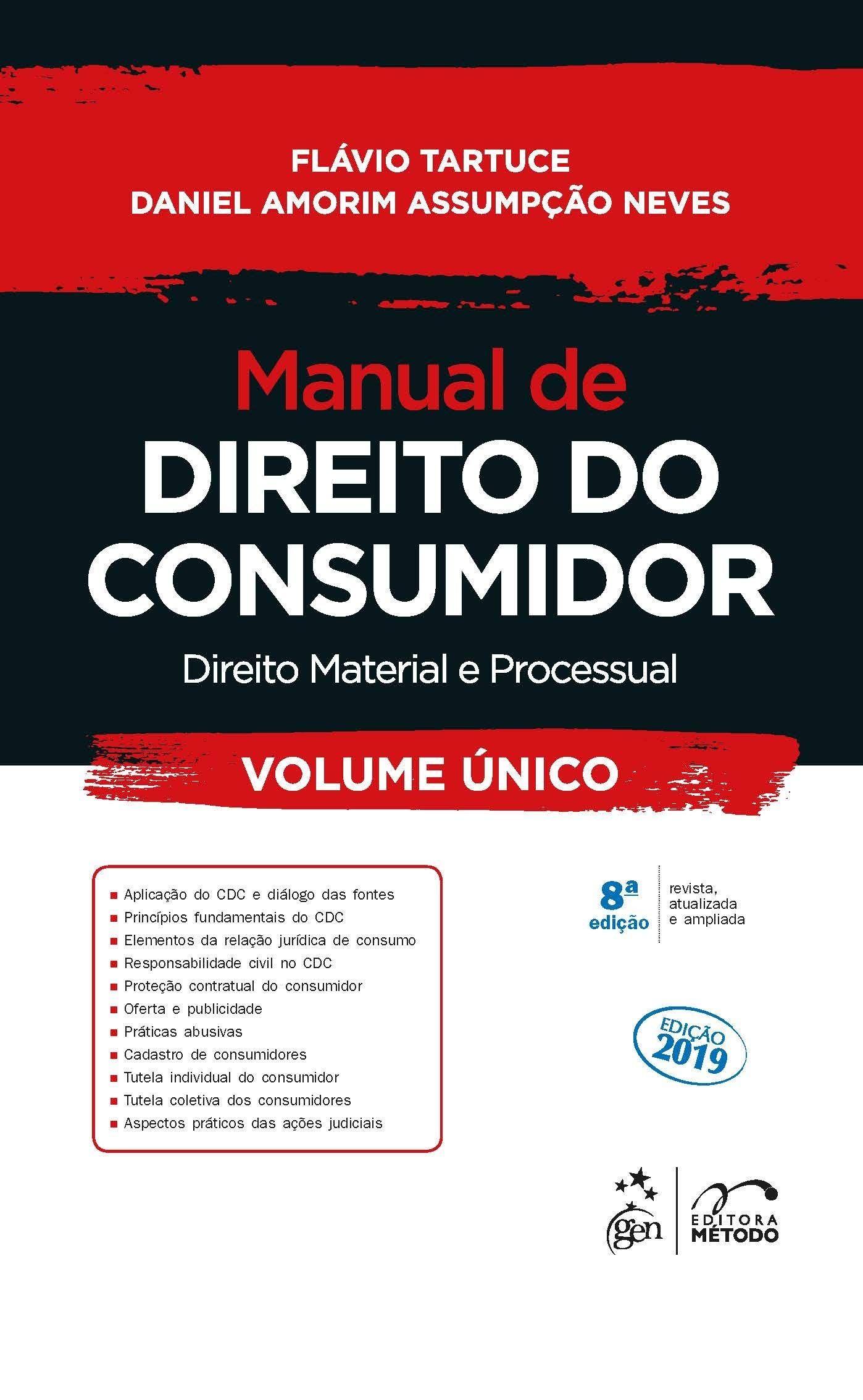 Manual De Direito Do Consumidor Direito Material E Processual