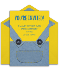 A Collection Of FREE Boy Birthday Party Invitations We Love This Design For Minions Digital Template Thats Easy To Personalize And