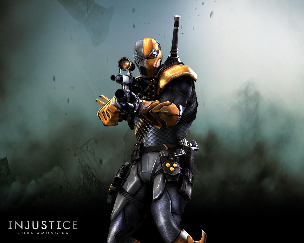 Game Art X Injustice Gods Among Us Wallpapers Deathstroke Injustice Deathstroke The Terminator