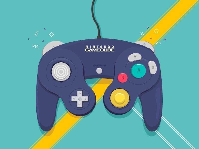Nintendo Gamecube Gamecube Gamecube Controller Dribbble