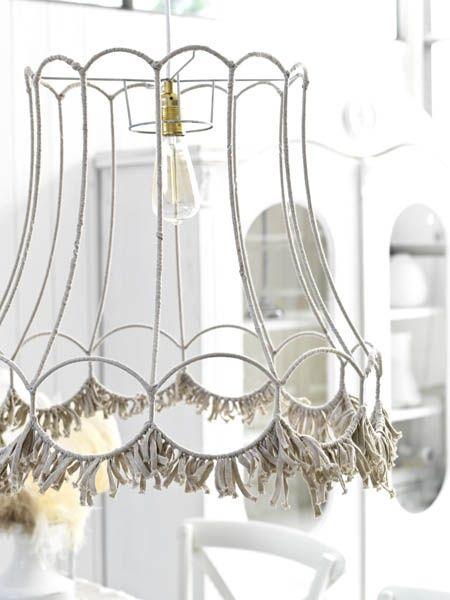 Libelle Free Pattern Doe Het Zelf Lampenkap Oude Lampen
