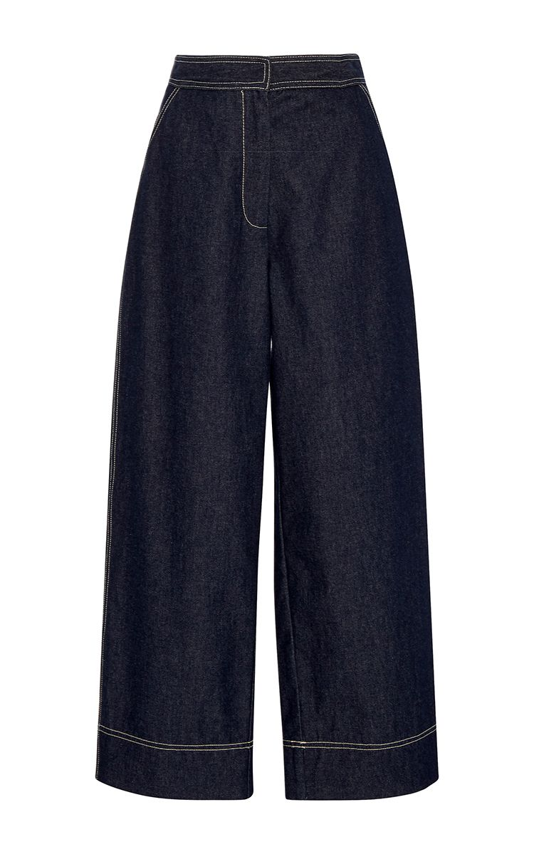 Wide Leg Johnny Jeans by WHIT for Preorder on Moda Operandi
