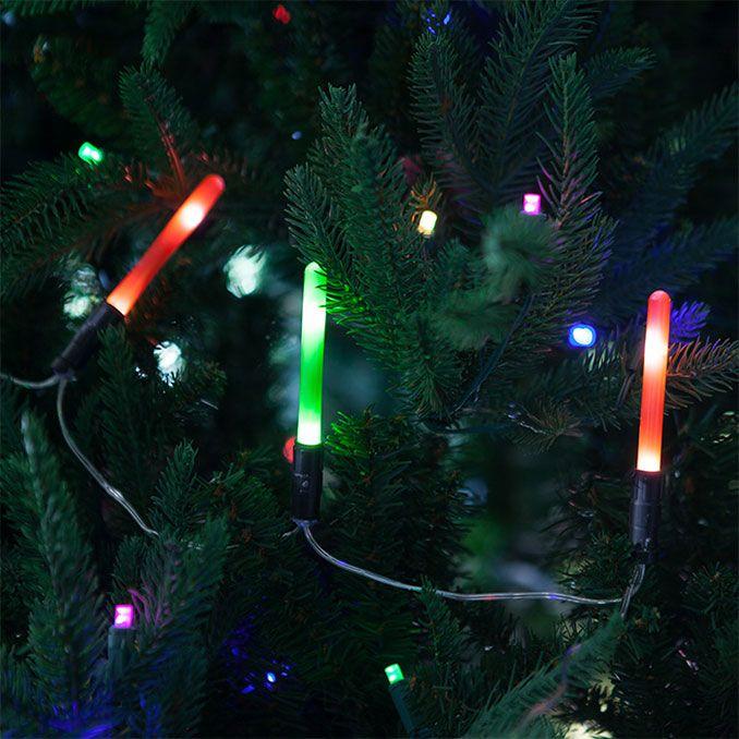 Star Wars Christmas Tree Lights: Star Wars Lightsaber String Lights