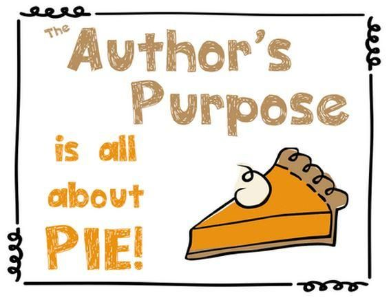 RI.2.6 Author's Purpose for Informational Text: Answer, Explain ...