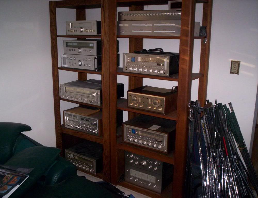 Audio Rack For Your Vintage Receiver