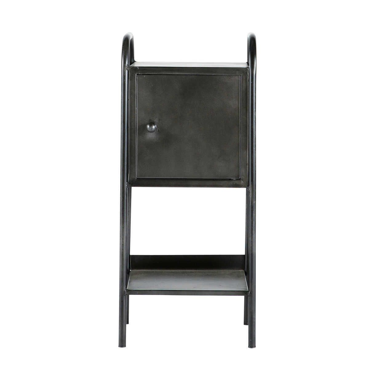 zwart indus nachtkastje edison maisons du monde pinterest chevet maison du monde et le. Black Bedroom Furniture Sets. Home Design Ideas