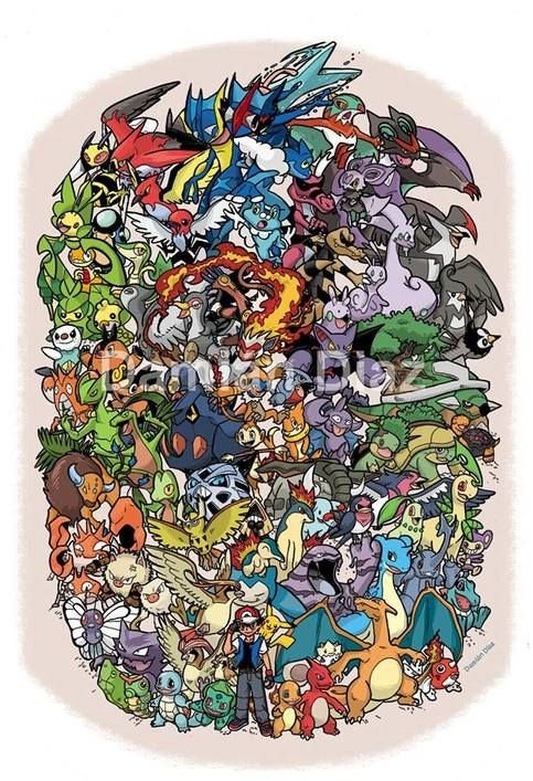 Images of ash all pokemon
