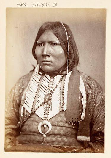 Nokoney (the son of Horse Back) – Comanche – 1870
