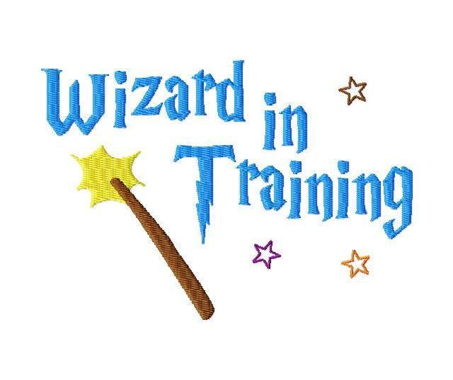 Instant Download Harry Potter Inspired Wizard in Training Machine ...