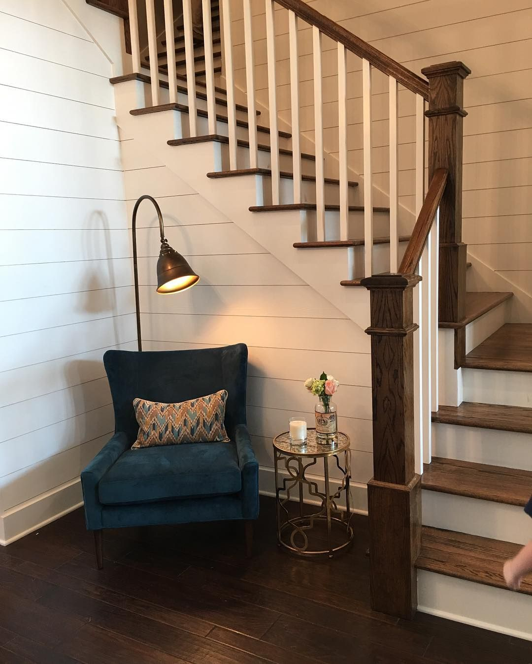 14 Staircases Design Ideas: 14+ Tips For Incorporating Shiplap Into Your Home