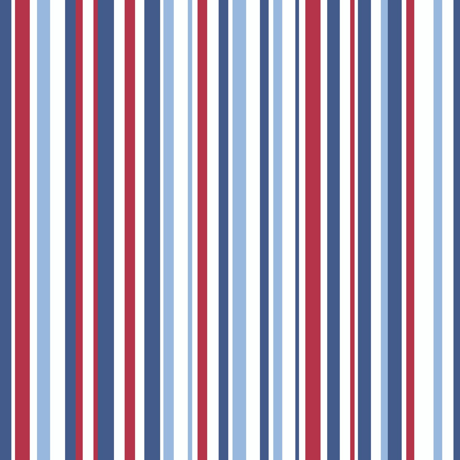 Opera Fun, Super Stripe 533602 by Arthouse Red, white