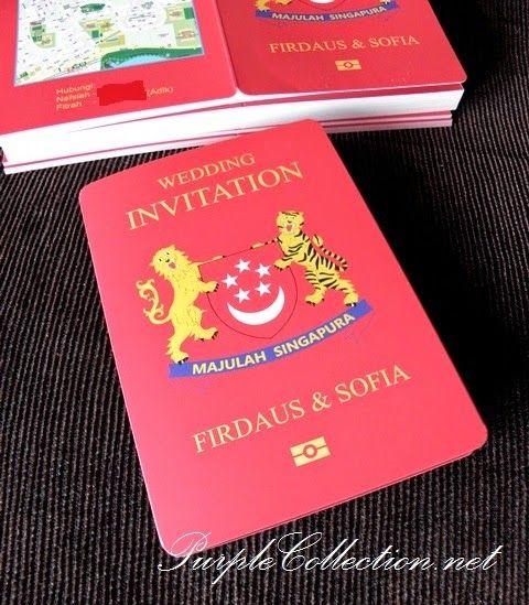 Passport wedding card singapore wedding invitation cards singapore passport wedding invitation card stopboris Gallery