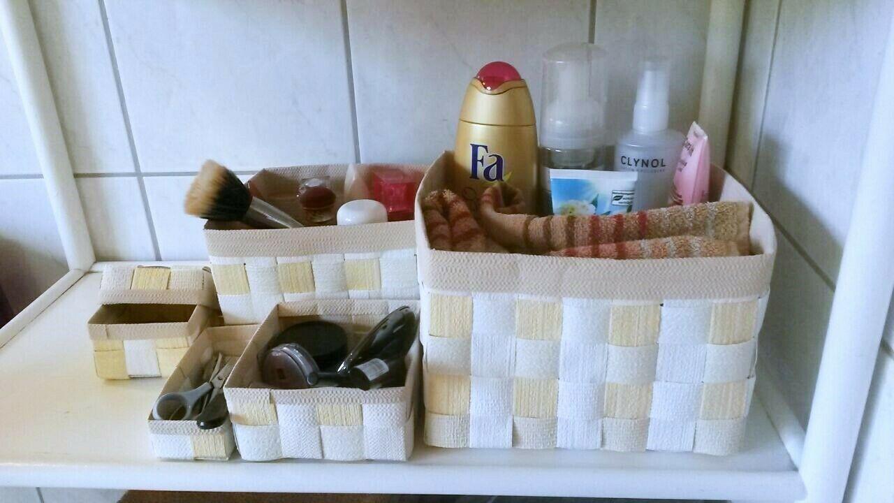Aufbewahrungsboxen 6tlg Geflochten Korb Box Badezimmer Kiste Handarbeit In 2020 Aufbewahrungsbox Aufbewahrung Geflochtener Korb