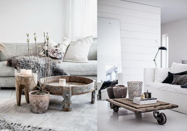 20 inspirations pour un salon aux couleurs naturelles joli place décorer son salonmaison salondéco maisonidées